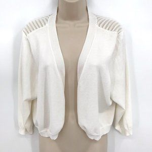 NWT Maurices Crop White Sweater  2X